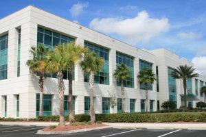 Commercial center building